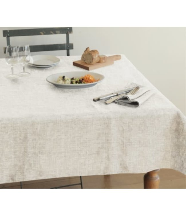 MORRIS TWO TONE MELANGE TABLECLOTH (MP6)