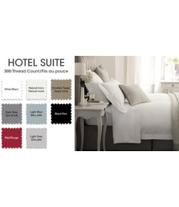 *18'' DP HOTEL LINEN 300TC COTTON SHEET SET