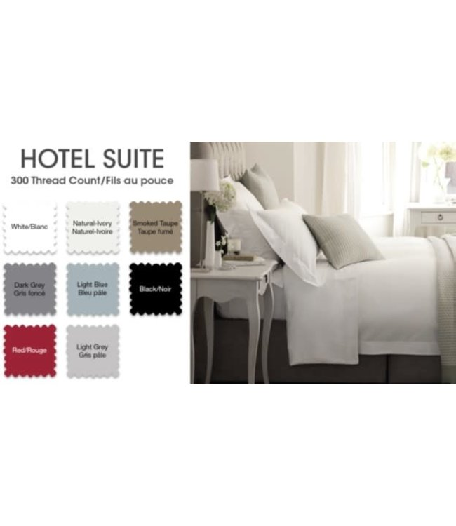 *14'' DP HOTEL LINEN 300TC COTTON SHEET SET