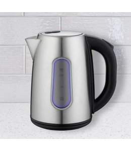 A LA CUISINE STAINLESS STEEL LED ELECTRIC 1.7L KETTLE (MP8)
