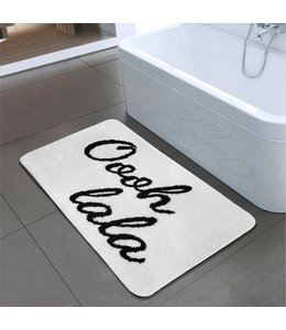 "OOH LALA BATH MAT WHITE 20X30"" (MP12)"