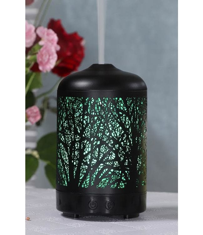 LAUREN TAYLOR COLOUR CHANGING LED BRANCHES DIFFUSER BLACK (MP8) 100ml