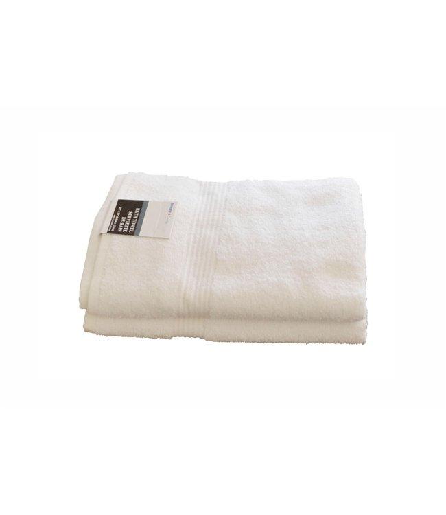 "WHITE TOWELS BATH TOWEL 25X50"" (MP24)"