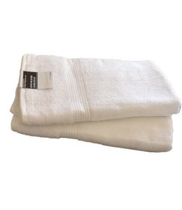 "WHITE TOWELS JUMBO BATH TOWEL 30X60"" (MP24)"