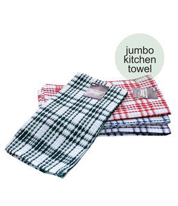 "JUMBO TEA TOWEL AST 23X32"" (MP144)"
