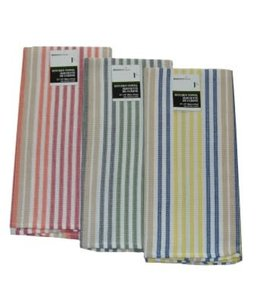 "*STRIPE JUMBO KITCHEN TOWEL AST 23X32"" (MP144)"