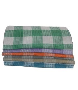 "GINGHAM CHECK TEA TOWEL 23X34"" (MP72)"