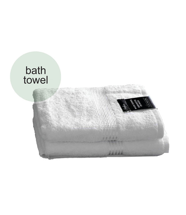 *PROMO TOWELS WHITE