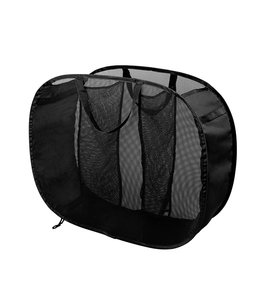 WOOLITE MESH 3 COMPARTMENT LAUNDRY SORTER HAMPER (MP6)