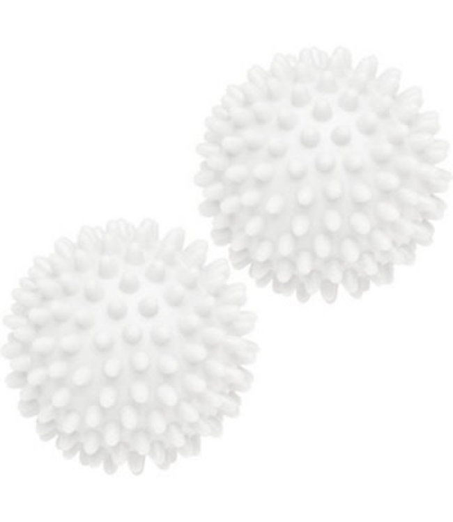 "WOOLITE 2PK DRYER BALLS WHITE 2.5"" (MP12)"
