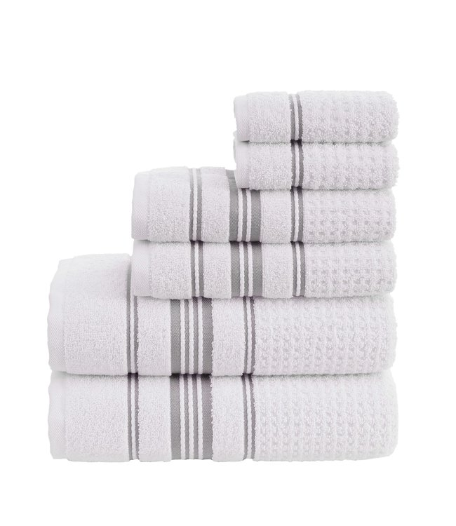 ASPEN 100% TURKISH COTTON 6PC TOWEL SET (MP6)