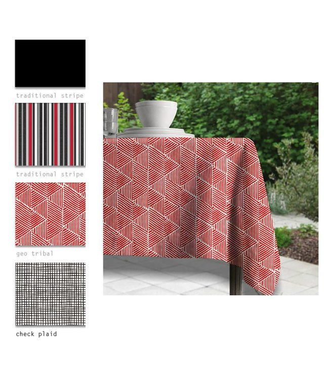"""SOL DE MARE LUX COLLECTION TABLECLOTH AST 60X84"""" (MP12)"""