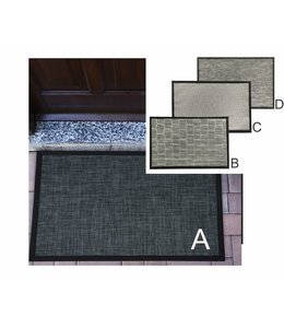 MAISON CONDELLE OUTDOOR/INDOOR PVC RUG AST (MP8)