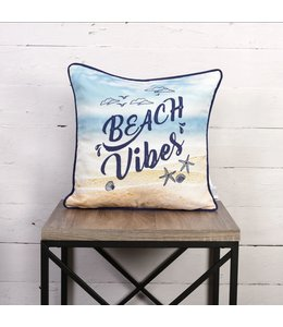 "OUTDOOR CUSHION 18X18"" (MP6) BEACH VIBES"