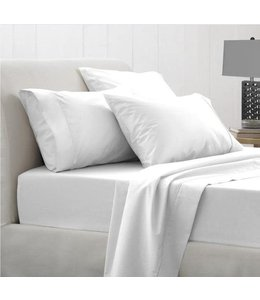 STUDIO 707 180 TC POLY/COTTON SHEET SET (MP10) SOLID COLOURS