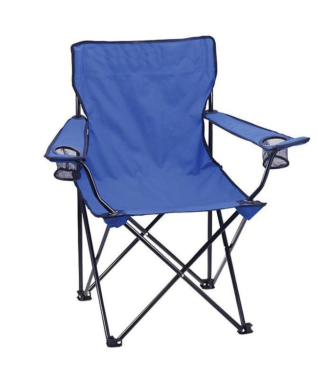 """SOL DE MARE FOLDING CAMPING CHAIR w/CUP HOLDER AST 20X20X31.5"""" INCLUDES CARRY BAG(MP6)"""
