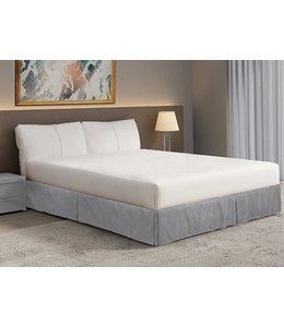 BRANDON BOX PLEAT SOLID BEDSKIRT AST (MP6)