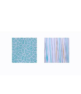 "SOL DE MARE ROSCO OUTDOOR CURTAIN 52X90"" TEAL (MP12)"