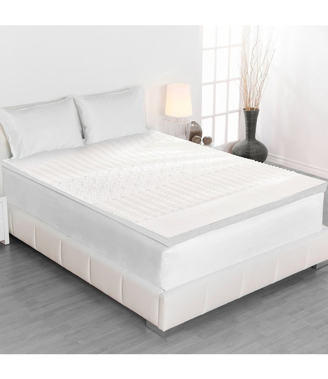 "MAISON BLANCHE 5 ZONE COMFORT 1.5"" MEMORY FOAM MATTRESS TOPPER (MP4)"