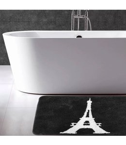 "LAUREN TAYLOR PARIS CHIC BATH MAT WHITE 16X20"" (MP12)"