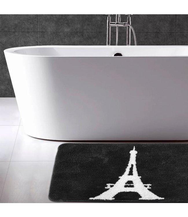 """LAUREN TAYLOR PARIS CHIC BATH MAT WHITE 16X20"""" (MP12)"""