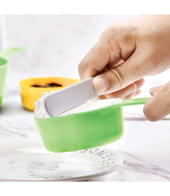 A LA CUISINE MEASURING CUP SET (MP12) RED OR GREEN