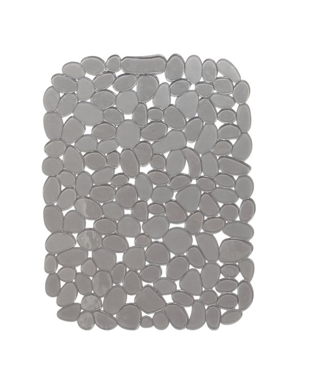 "A LA CUISINE GREY PEBBLE SINK MAT 16X12"" (MP24)"