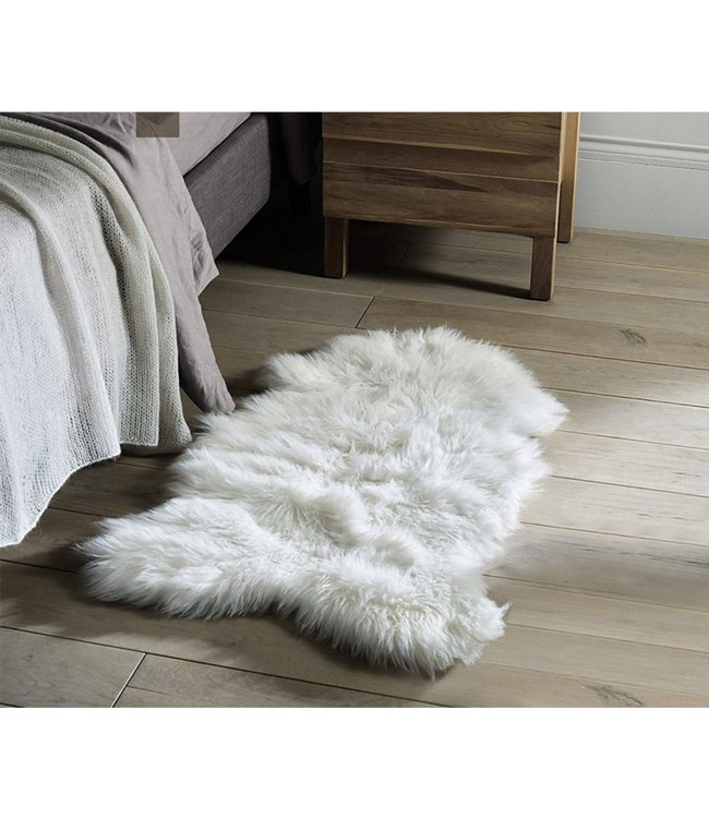 "LAUREN TAYLOR FAUX SHEEPSKIN RUG 24X35"" (MP24)"