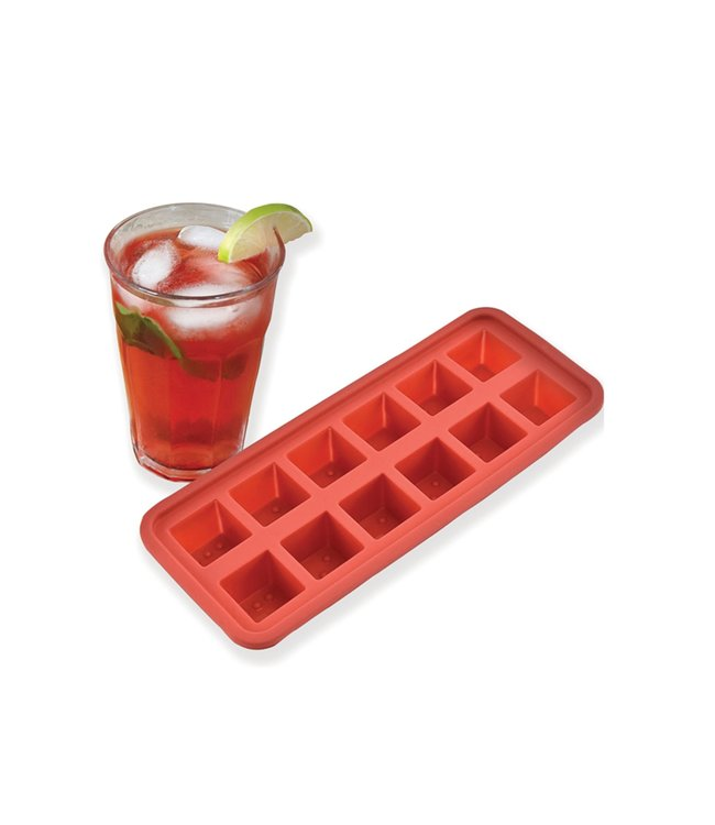 A LA CUISINE ICE CUBE TRAY (MP12) RED OR GREEN