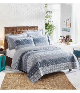 RANIA QUILT SET (MP2) DENIM