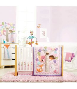 LITTLE ADRIEN WOODLAND 5PC CRIB SET (MP2)