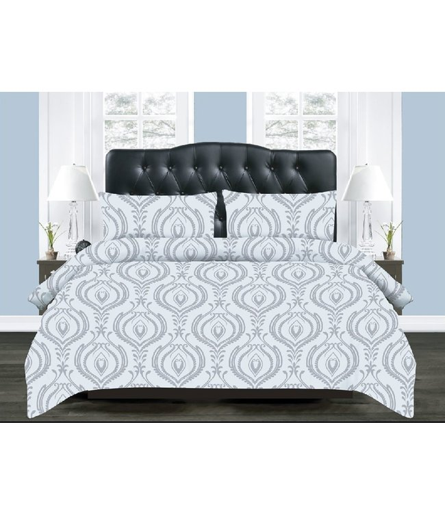 SCROLL 3PC COMFORTER SET  (MP4)