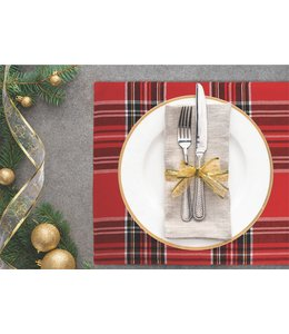 "2PK CLASSIC PLAID PLACEMATS 13X19"" (MP6)"