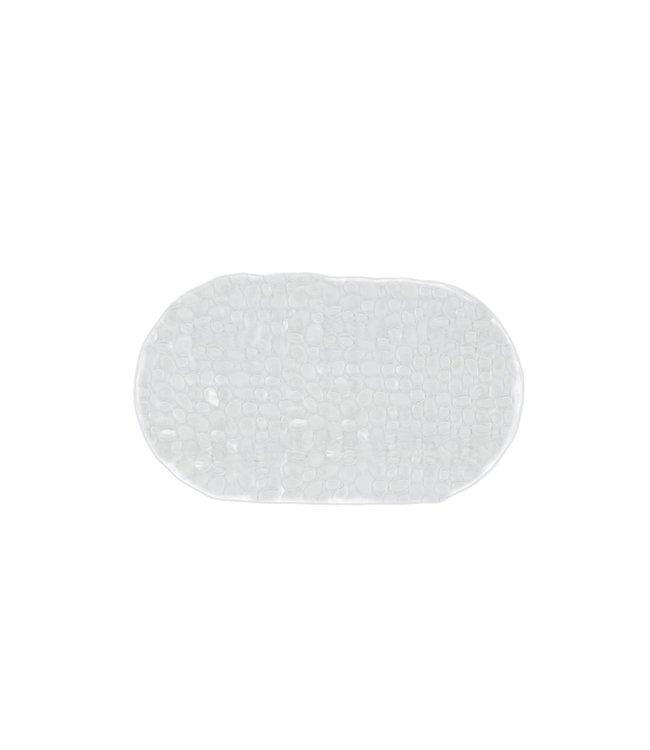 "VINYL BUBBLE BATH MAT CLEAR 16X27"" (MP12)"