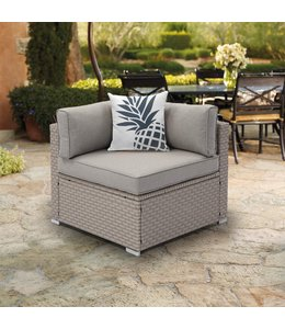 """TROPICALE OUTDOOR SQUARE CUSHION AST 17X17"""" (MP12)"""
