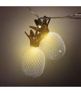 LAUREN TAYLOR 10 LED PINEAPPLE STRING LIGHTS