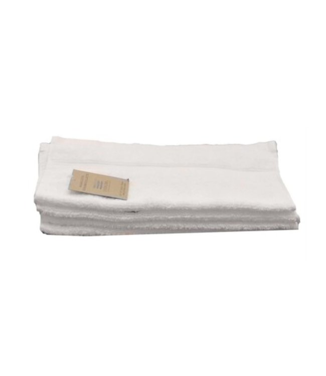 MADE IN COLUMBIA WHITE TOWELS