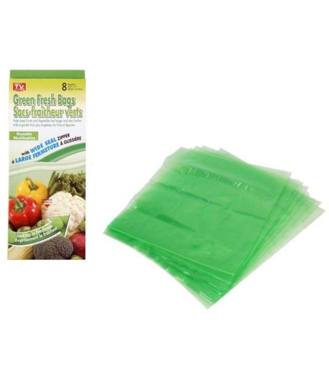 GREEN STAY FRESH VEGTABLE BAG CLEAR (MP36)