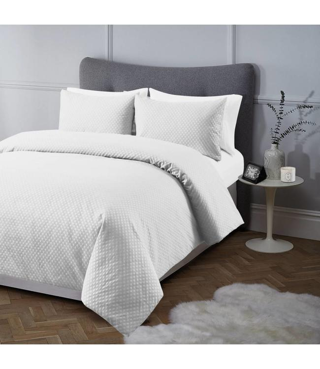 ADRIEN LEWIS *REEVE JACQUARD COTTON RICH 3PC DUVET COVER SET (MP2)