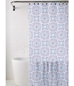 *HAZE SHOWER CURTAIN BLUE 72X72 (MP12)