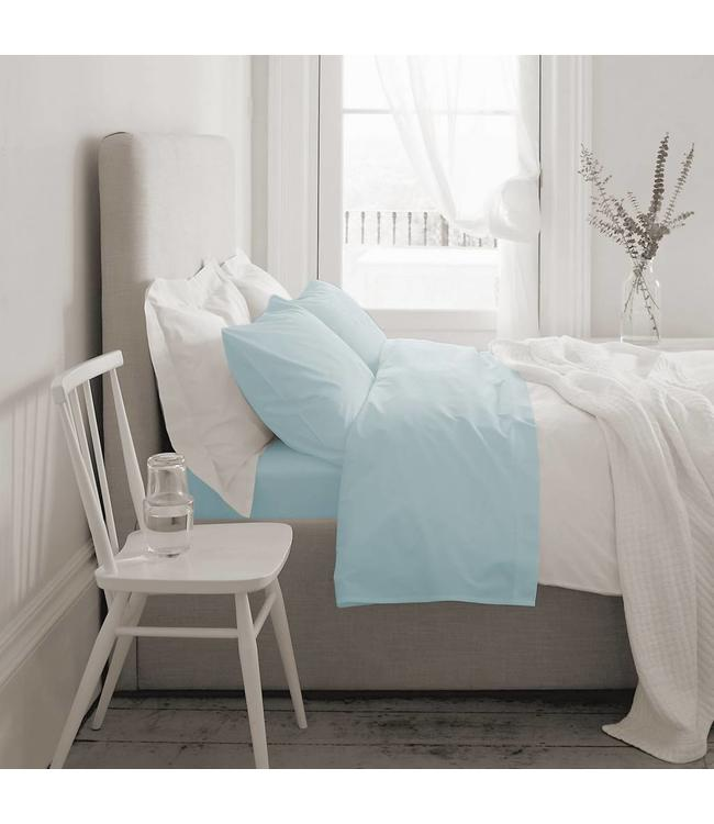 *T1000 COTTON RICH SHEET SET (MP4) BLUE KING