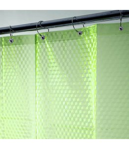 "LAUREN TAYLOR *3D EVA SHOWER CURTAIN AST 71X71"" (MP12)"