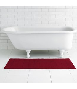 LAUREN TAYLOR *RUNNER MEMORY FOAM BATH MAT AST 21X48 (MP12)