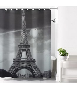 *PARIS HOOKLESS SHOWER CURTAIN (MP12)