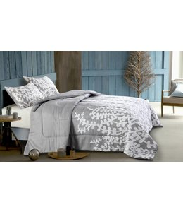 *PRIYA GREY 3PC COMFORTER SET (MP2)