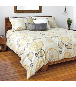 ADNAN 3PC DUVET COVER SET QUEEN