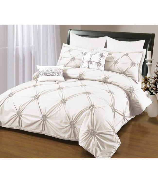 *RUCHED DUVET COVER
