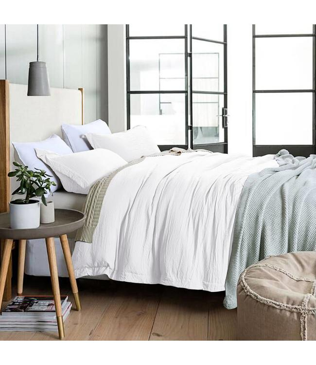 STONE WASHED BAMBOO FEEL DUVET COVER SETS (MP2)