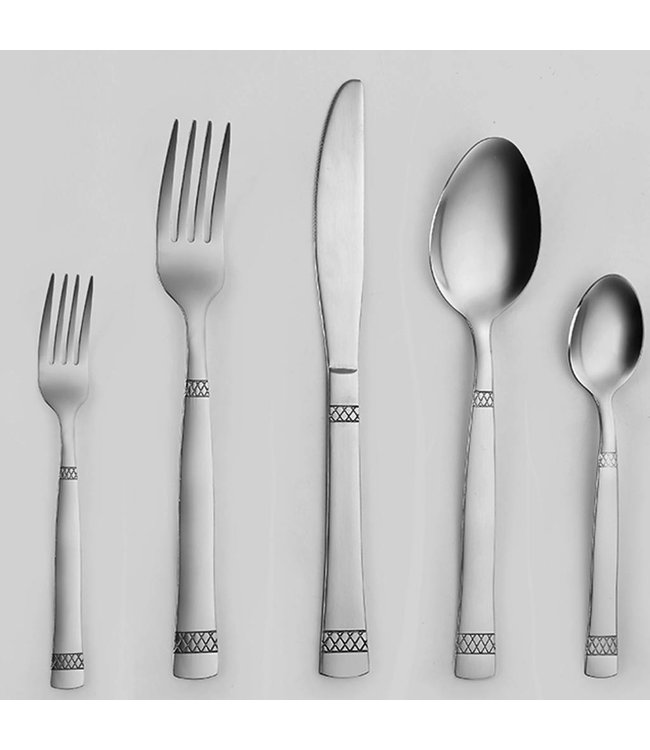 20PCS CUTLERY SET NET DESIGN  (MP10)