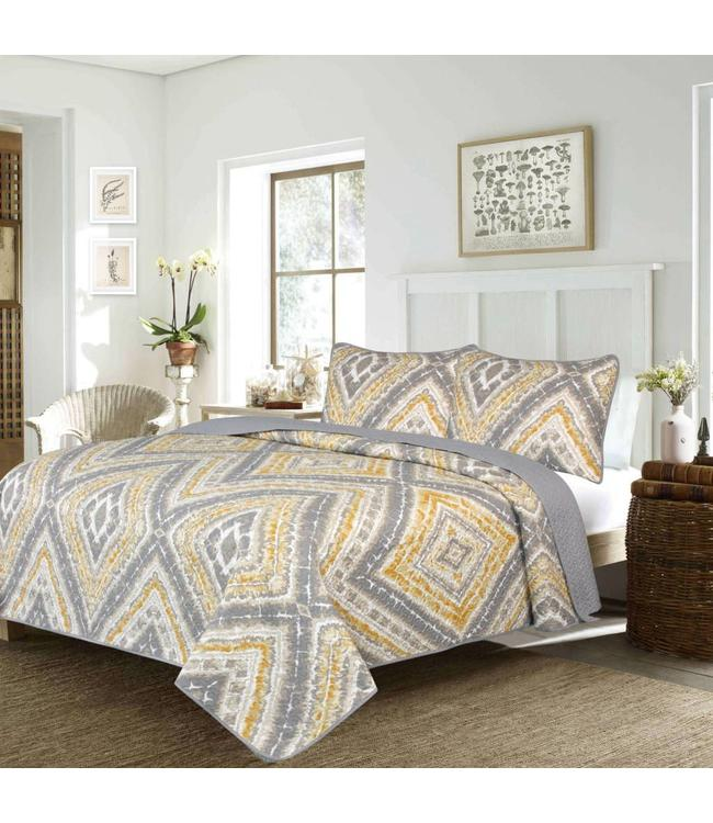 ADRIEN LEWIS *LEONA COLLECTION QUILT SET (MP2)